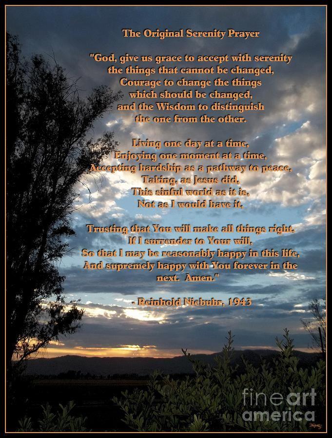 full serenity prayer serenity prayer full version pdf