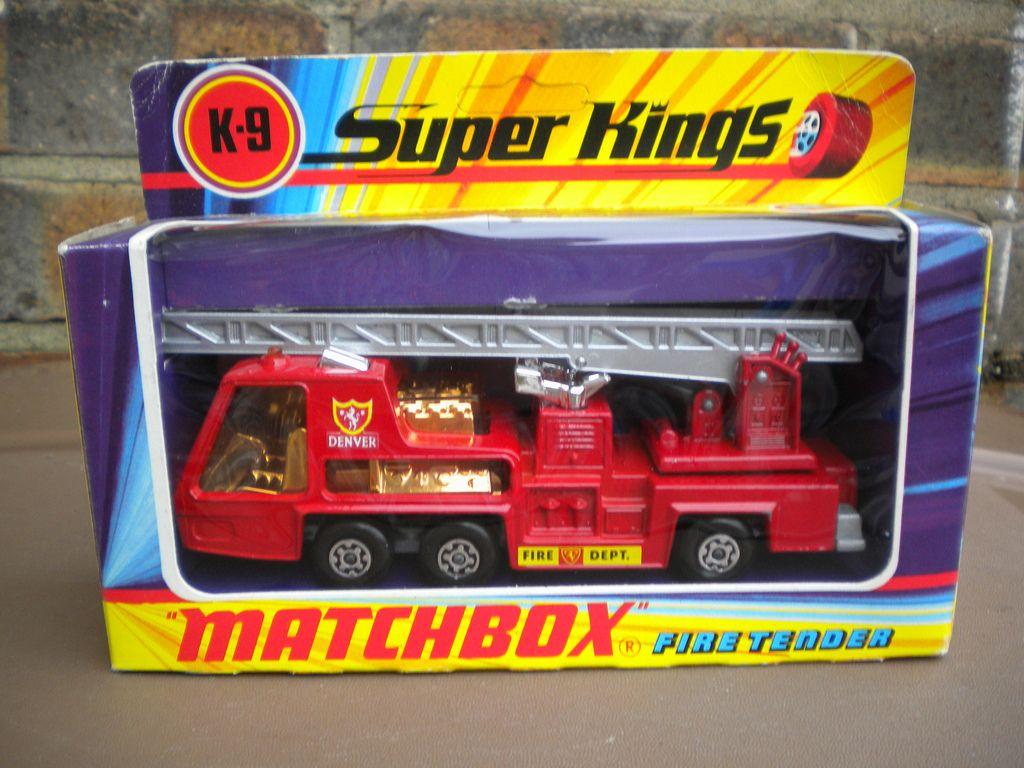 Matchbox Super Kings K9 Fire Tender Denver Fire Dept 1970 S Toy Model Cars Matchbox Mattel Hot Wheels