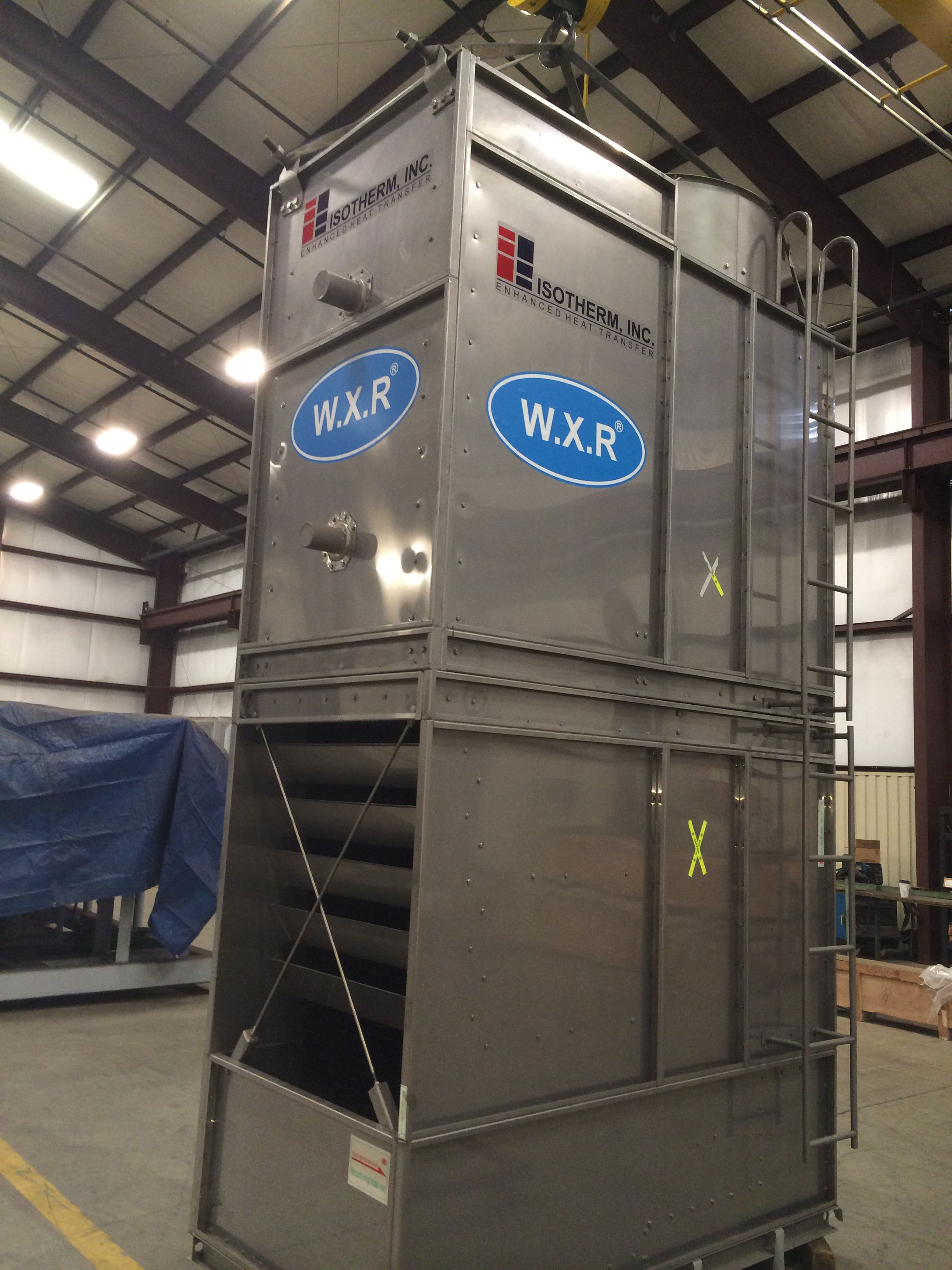 New Isotherm 100 Ton Refrigerant Evaporative Condenser For