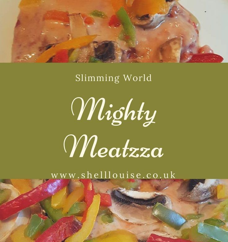 Meatzza - A Slimming World Recipe - Shell Louise | Recipes ...