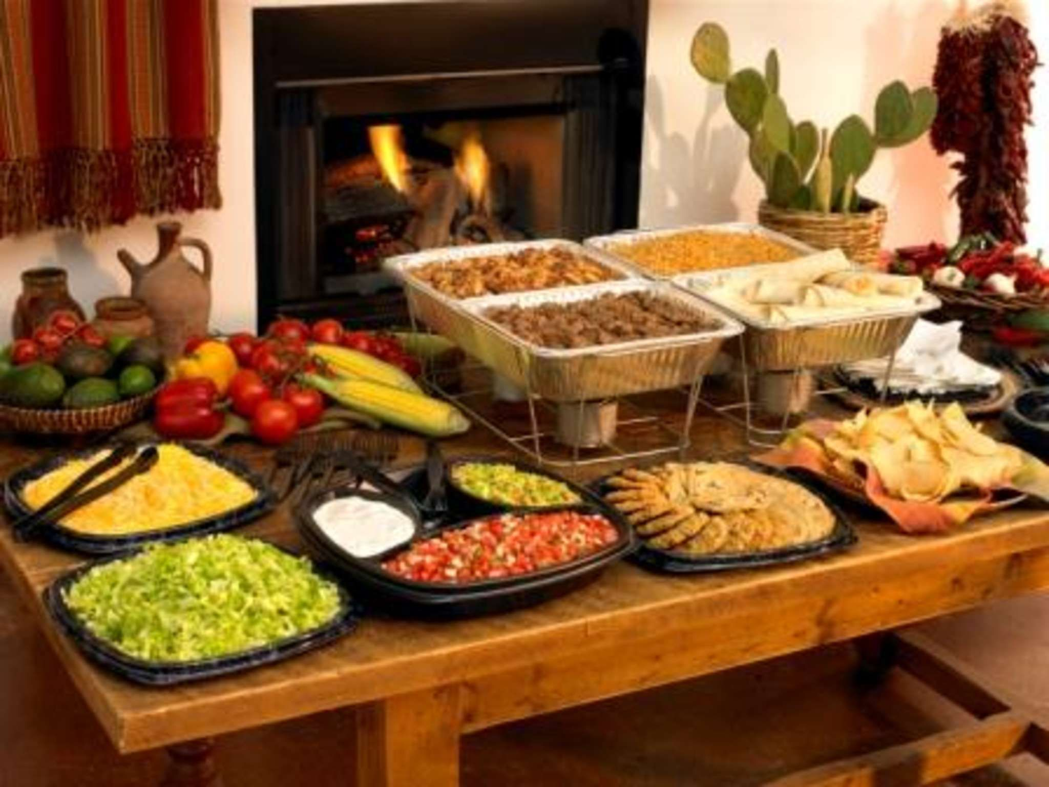 Fajitas for buffet google search recipes pinterest for Food bar ideas for a party
