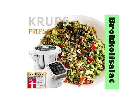 Brokkolisalat Mit Der Krups Prep And Cook Thermomix Rezept Brokkoli Salate Rezepte Krups Prep Cook