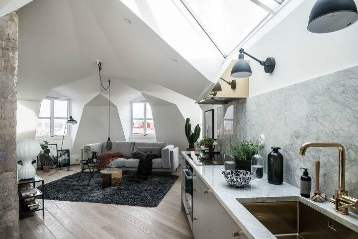 Scandinavian Dream Apartment Interior Design Aspirations