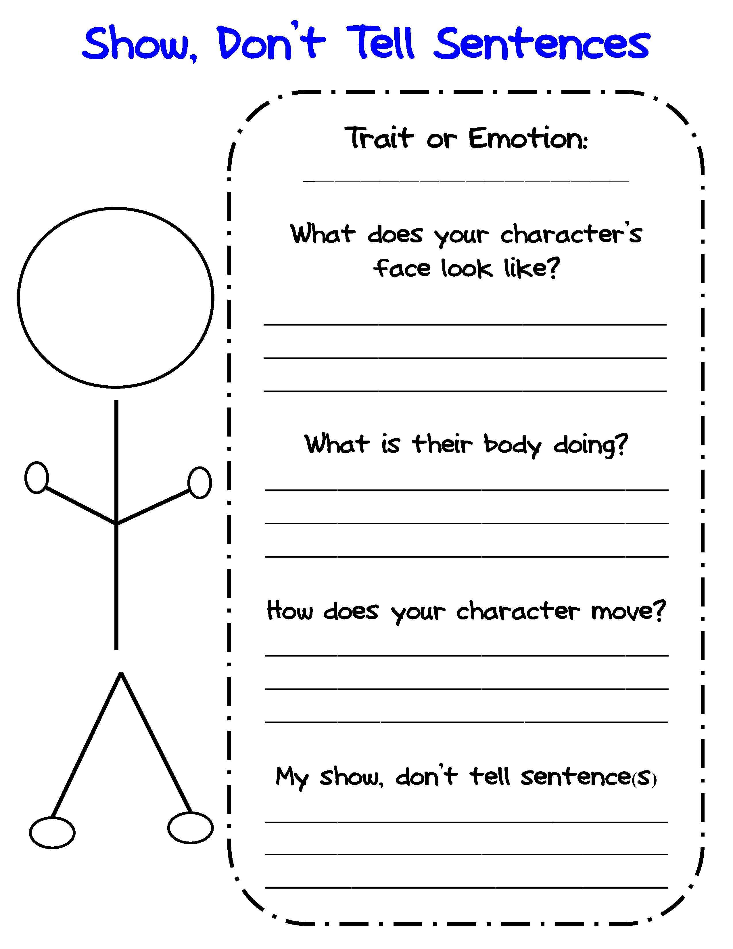 medium resolution of Bringing Characters to Life in Writers Workshop   Scholastic.com   Personal  narrative graphic organizer