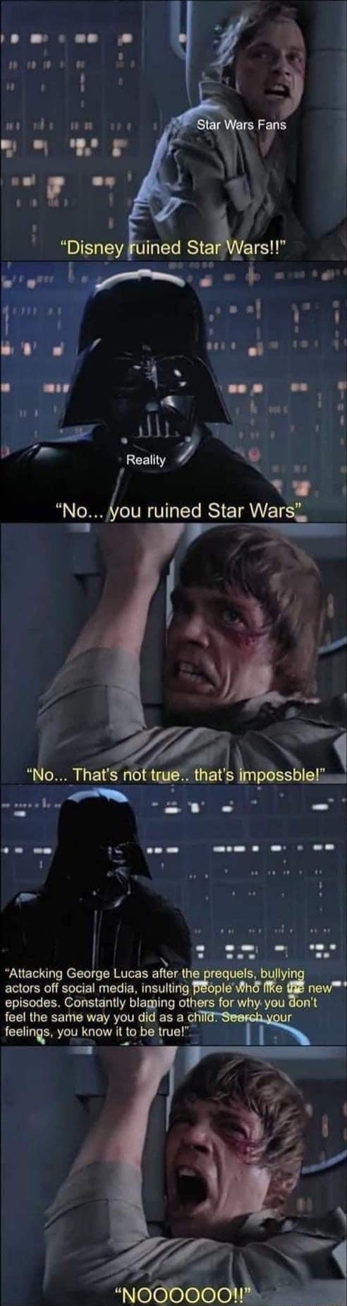 And Jon Favreau Revitalized It In 2021 Star Wars Humor Star Wars Memes Star Wars Fandom