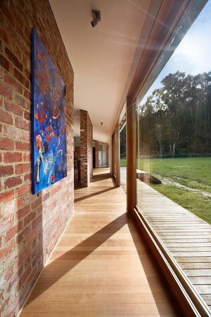 How thermal mass keeps you warm and cool brick wall shed homes also industrial hall by maxa design in rh pinterest