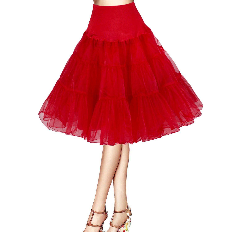 9100b3f857 ISASSY red tutu skirt dress Net Skirt petticoat 50s Wedding petticoat  underskirt half slip Rockabilly petticoat organza skirt dress Retro vintage  Fancy