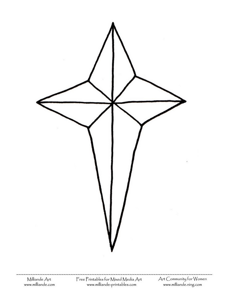 Christmas Star Printable Pictures Christmas Stars To Print Milliande Free Christmas Coloring Sheets And