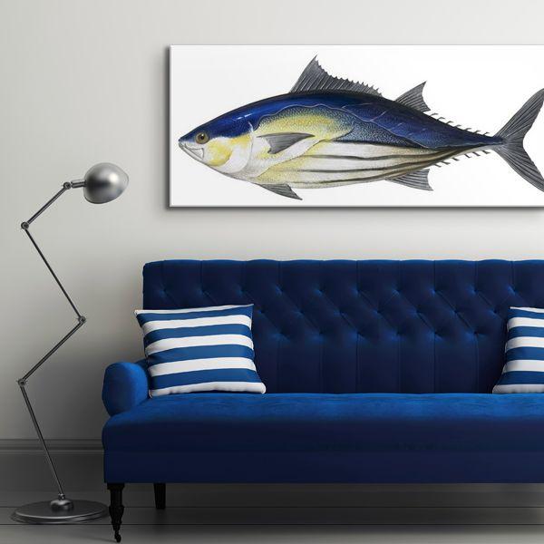 """Skipjack Tuna"" wall art from the The Encyclopaedia Britannica Collection via @greatbigcanvas at GreatBIGCanvas.com."