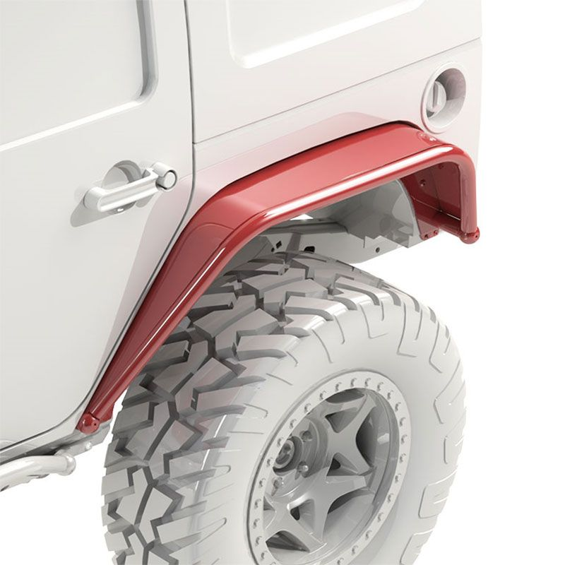 Metalcloak Overland Tube Fender Jk Wrangler In 2020 Jeep