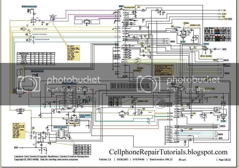 Free Cellphone Repair Tutorials How To Read Cellphone S Schematic Diagrams In 2020 Electronic Circuit Projects Circuit Projects Spectrum Analyzer