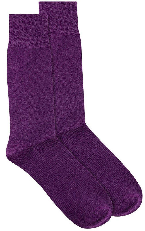 Purple dress socks  Antonio Ricci Solid Color Mens Dress Socks Purple ueueue Click image