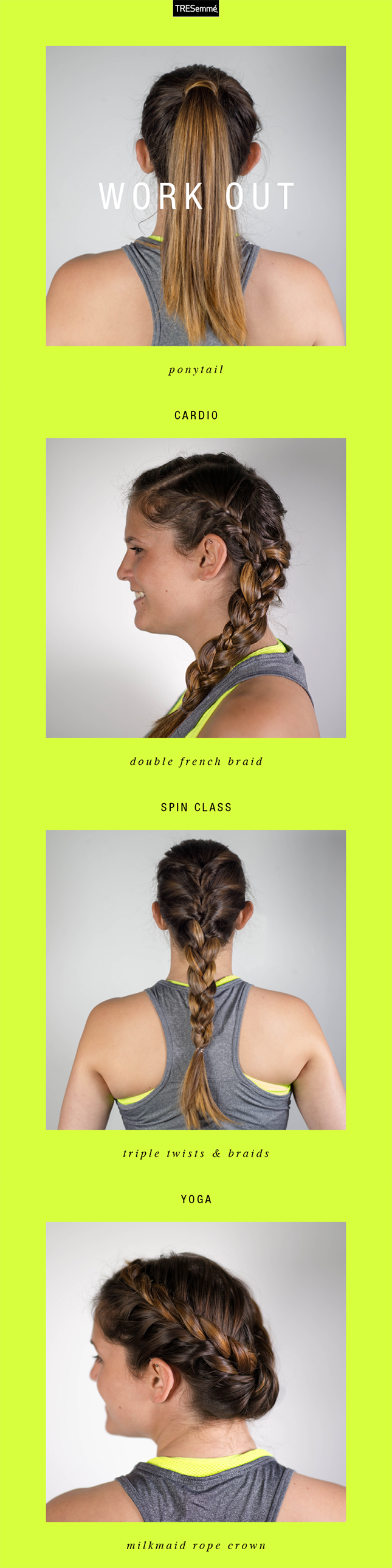 Gone Are The Days Of Equating Working Out To Looking Like A Hot Mess Try One Of These Looks To Get Womens Hairstyles Sporty Hairstyles Sharon Stone Hairstyles