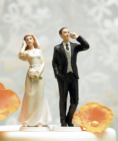 Humorous Wedding Cake Toppers - Wedding Cake Topers