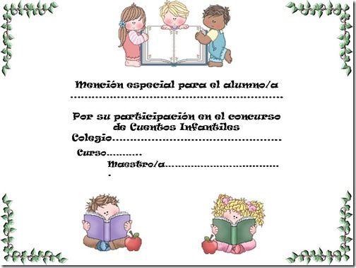 Formatos de diplomas escolares para imprimir - Imagui lectura