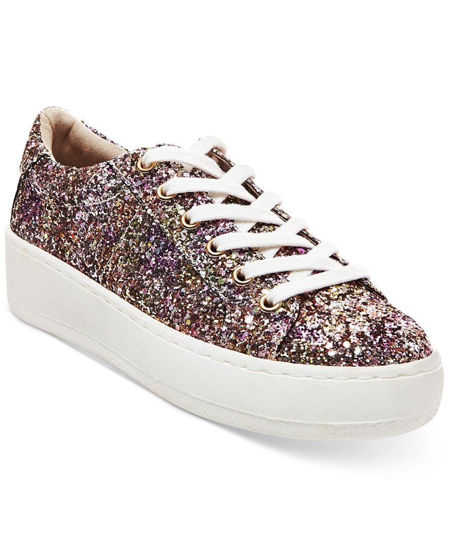 fac40cd9601 Steve Madden Women s Bertie Lace-Up Sneakers