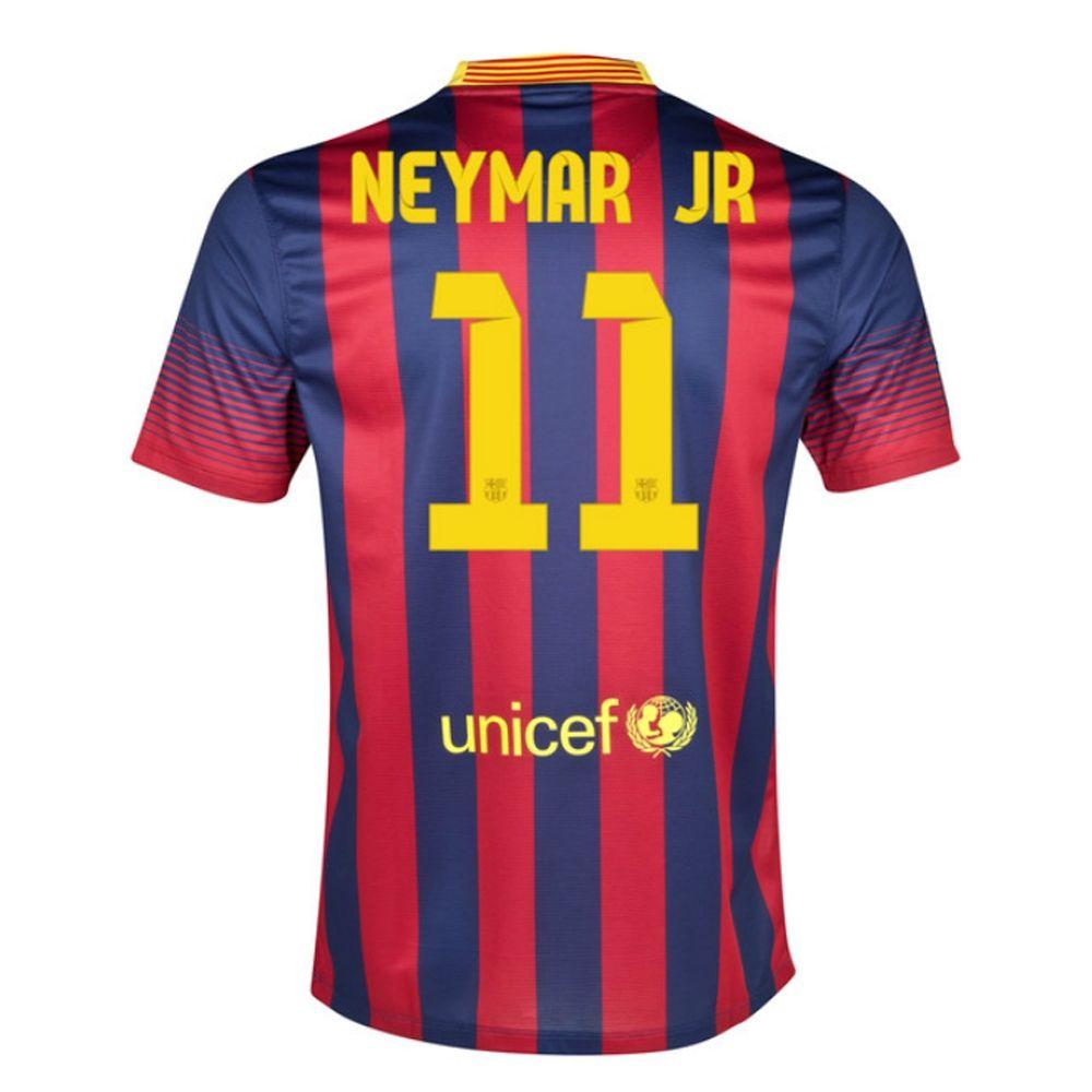 2a12dbb85 13-14 Barcelona  10 MESSI Home Soccer Jersey Shirt