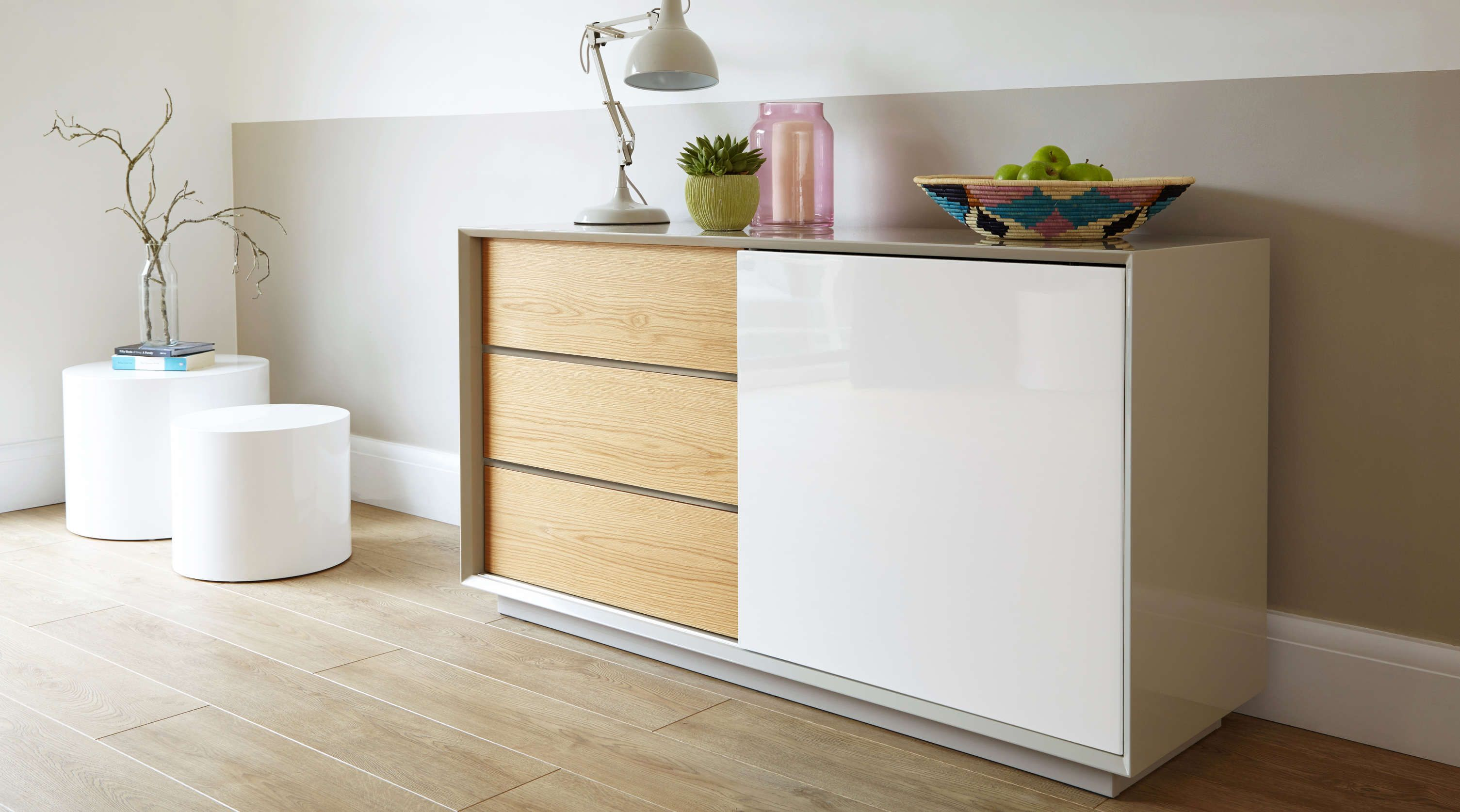 Modern White Gloss Bedroom Furniture Uk