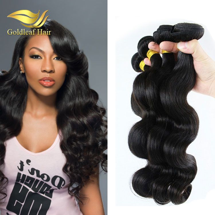Trade Assurance Body Wave Indian Human Hair Extension 100