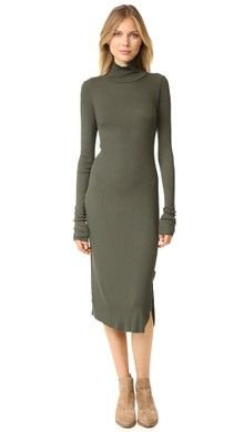 Club Monaco Edvard Turtleneck Sweater Dress   SHOPBOP