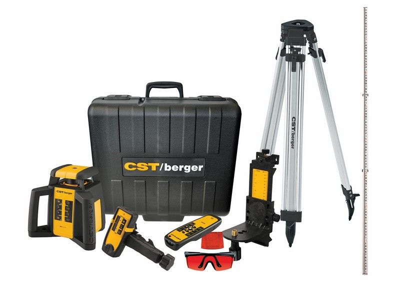 New Cst Berger Rotary Laser Rl50hvck Announced Laser Levels Rotary Vertical