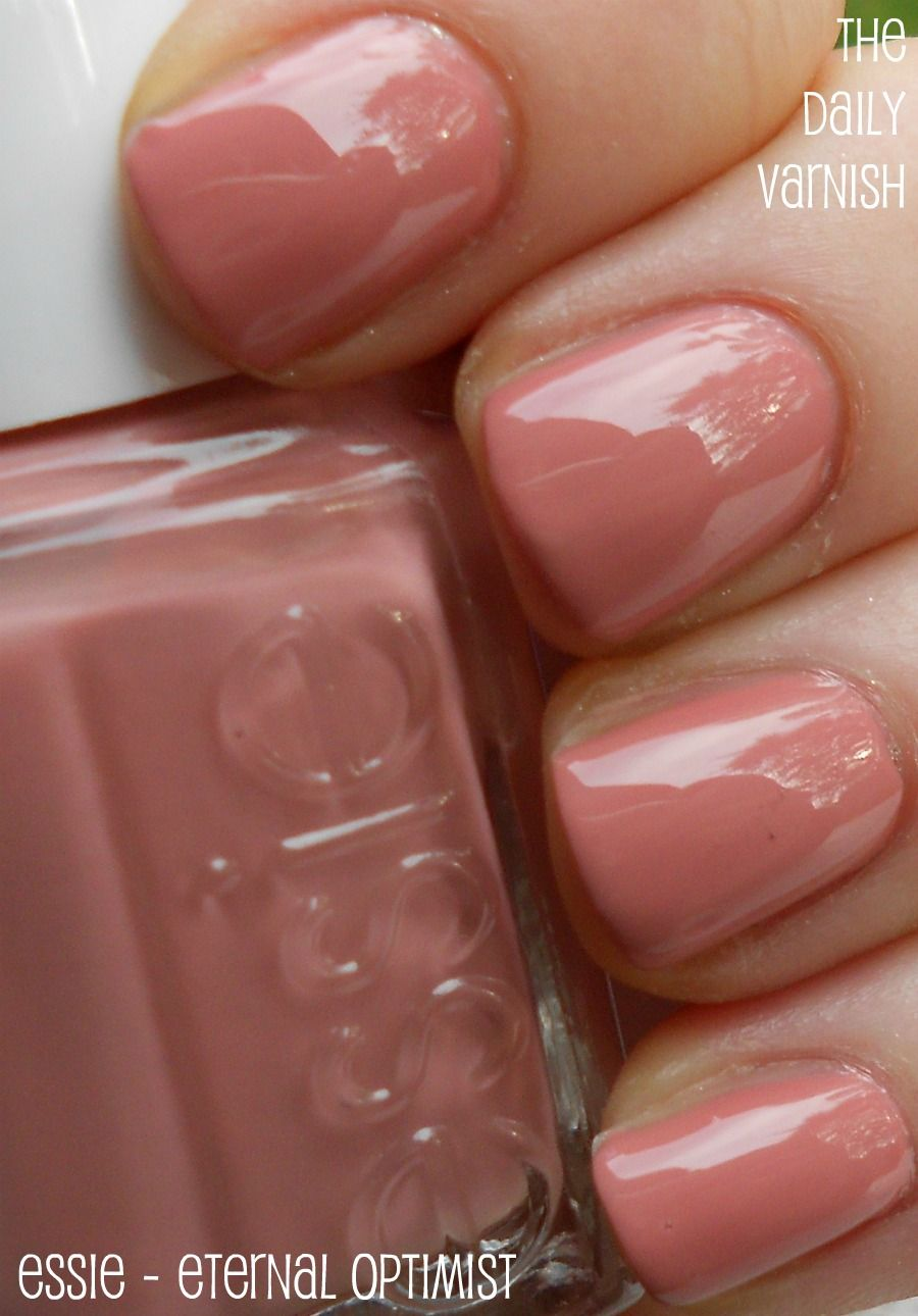 Essie Eternal Optimist - takes two coats to cover fully. A great ...