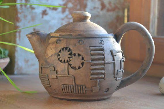Ceramic tea pot Stoneware Teapot Ceramic Tea Maker Pottery