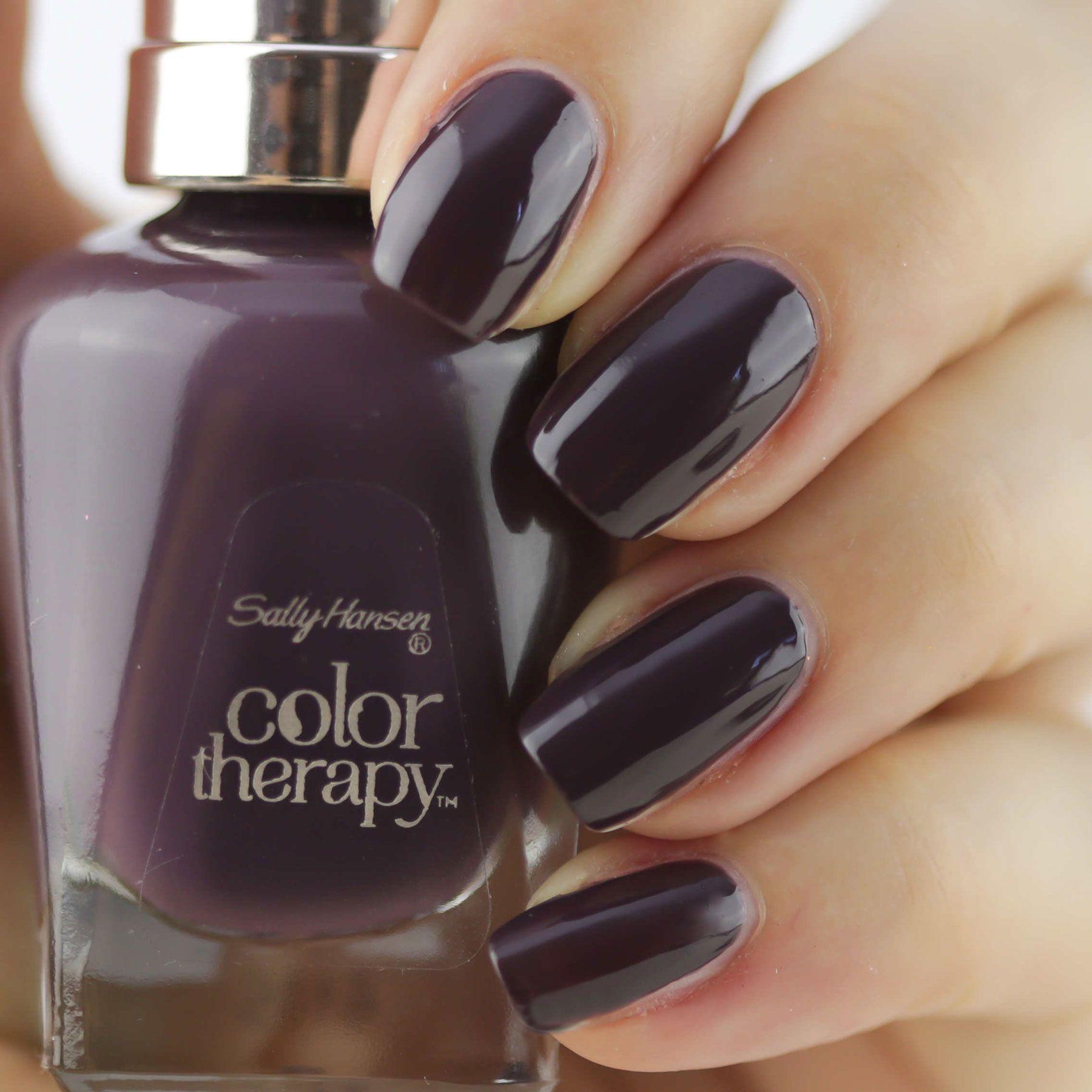 Sally Hansen Color Therapy Exotic Acia | Nails | Pinterest | Esmalte