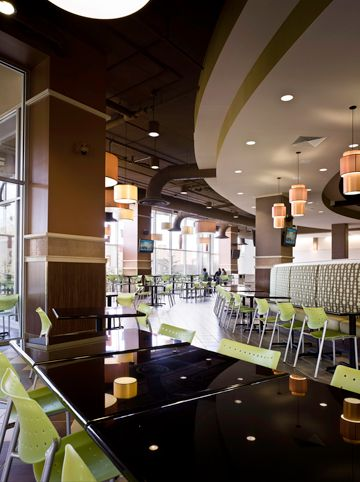 Food Court At U Square Madison WI   Brownhouse Designs   Interior Design    Architecture
