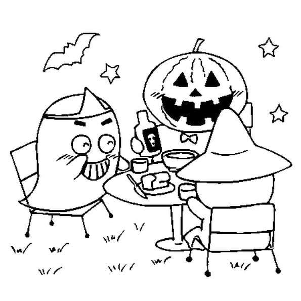 Coloriage en ligne d halloween Conventiongymvolontaire