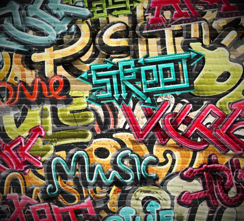 Graffiti wall wallpaper - Graffiti Characters Spray Can Wallpaper High Resolution Doodle 1920 1080 Free Graffiti Wallpapers 40