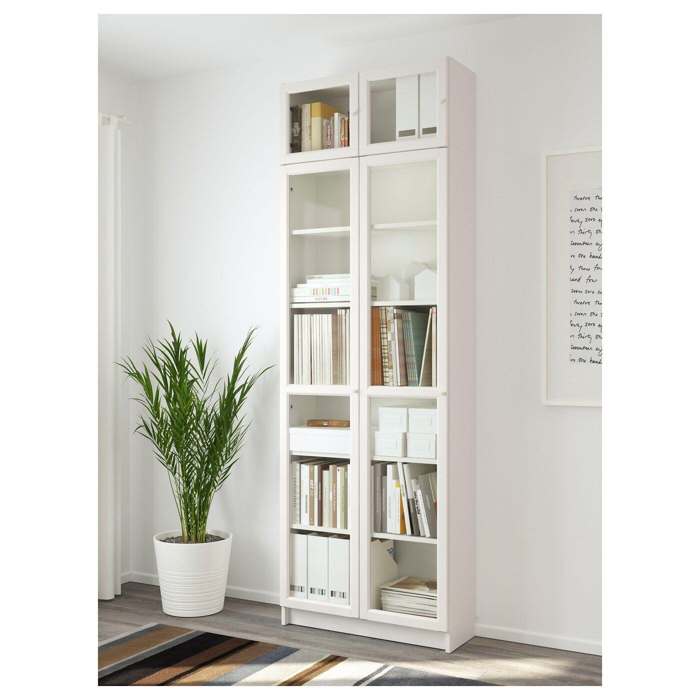 IKEA BILLY / OXBERG Bücherregal – weiß