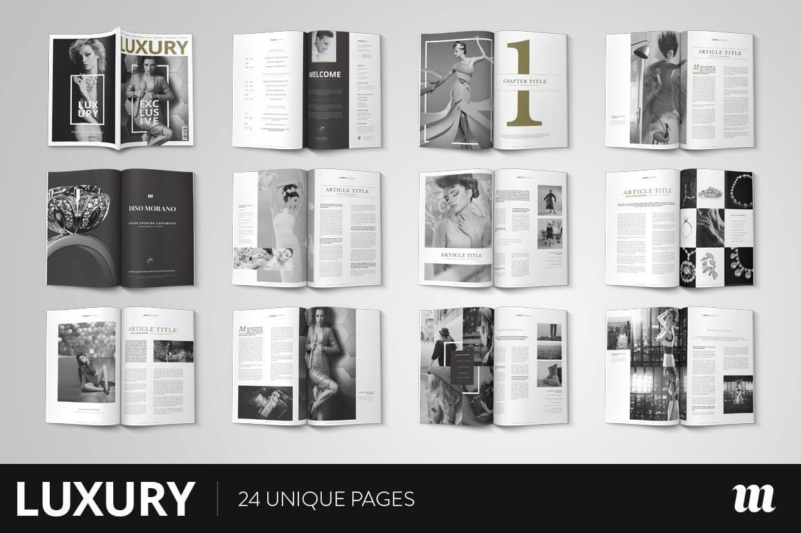 20 Premium Magazine Templates for Professionals | Magazine layouts ...