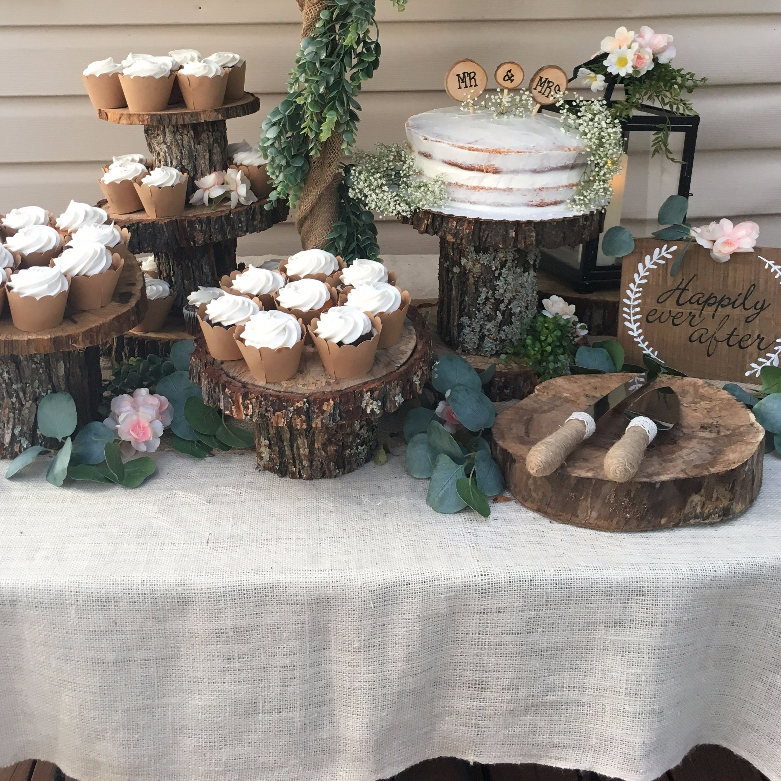 Rustic Back Yard Wedding Ideas: In This Post I Share Inexpensive And Easy Ways To Decorate