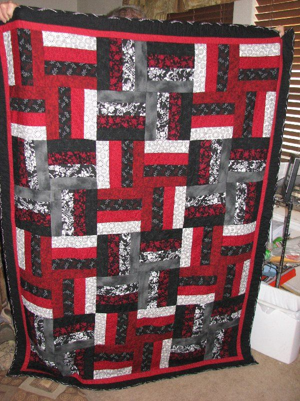 Red And Black Quilt Patterns : black, quilt, patterns, Help!, Black/red/white, Quilt, Pattern., Pattern,, Heart, Patterns
