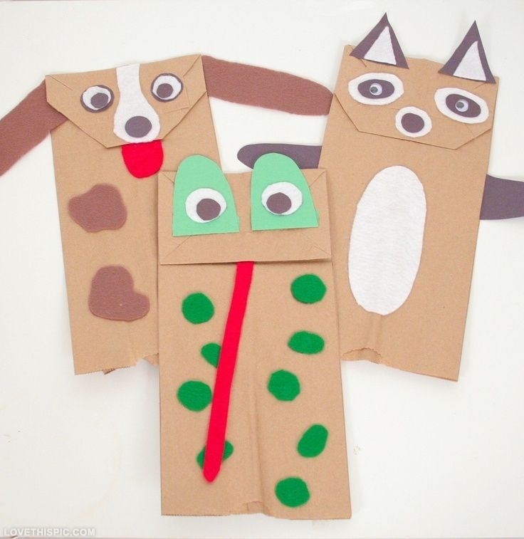 Diy puppets made from lunch bags httpsretailpackaging diy craft diy diy ideas diy crafts do it yourself diy art diy tips diy images do it yourself images diy photos diy pics solutioingenieria Image collections