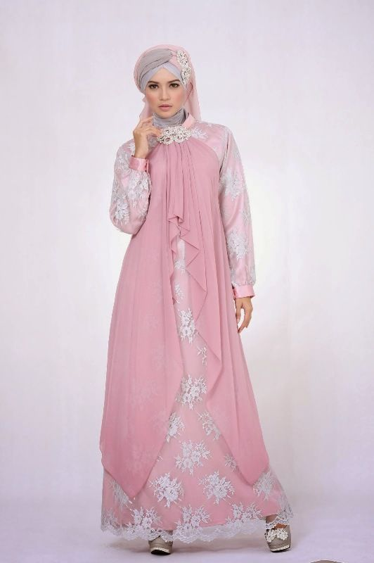 Model Busana Gaun Pesta Muslim Remaja Model Busana Muslim Dress