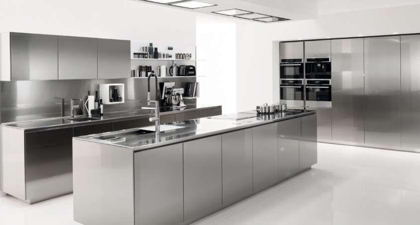 Mobili Da Cucina Acciaio.Cucine In Acciaio Componibili Prezzi Modelli E Novita Per