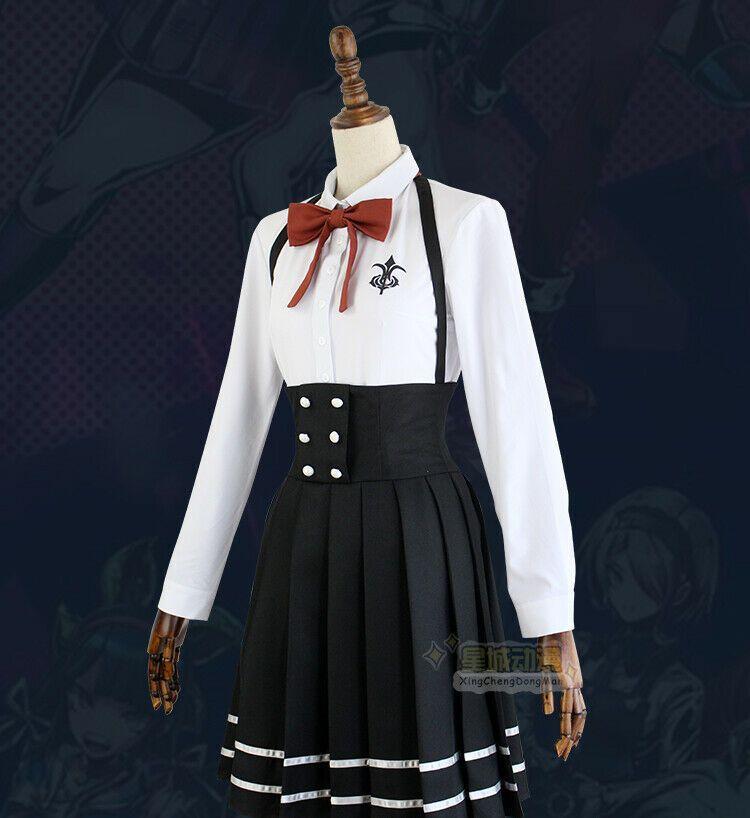 Killing Harmony Shirogane Tsumugi Uniform Cosplay Costume Set Danganronpa V3