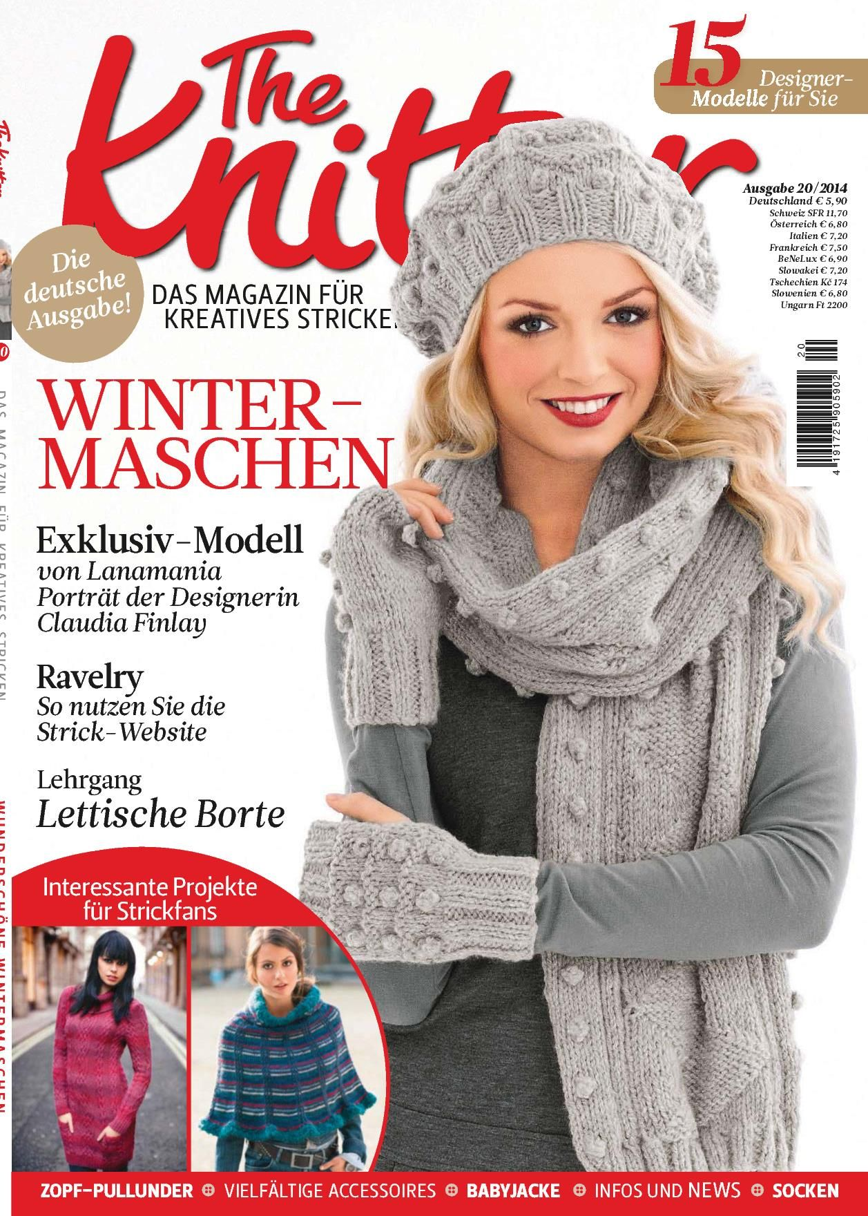 The Knitter Knit Magazines Books Pinterest Stricken