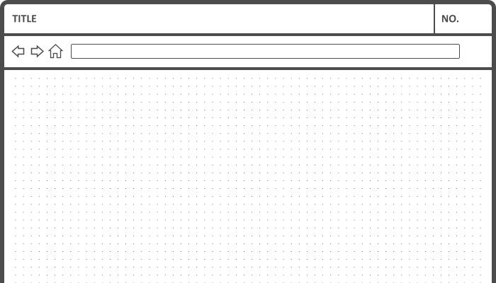 sketch web template