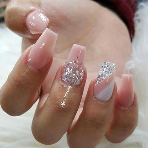The Fashionable Nail Art 2017 Luxury Nails Glitter Nail Art Nail Designs