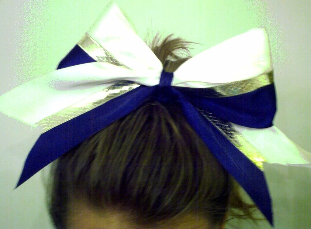 Yet another UNCG cheer bow :)