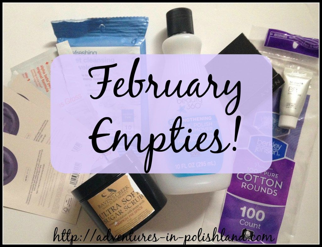 February Empties | #365DaysofEmpties Update