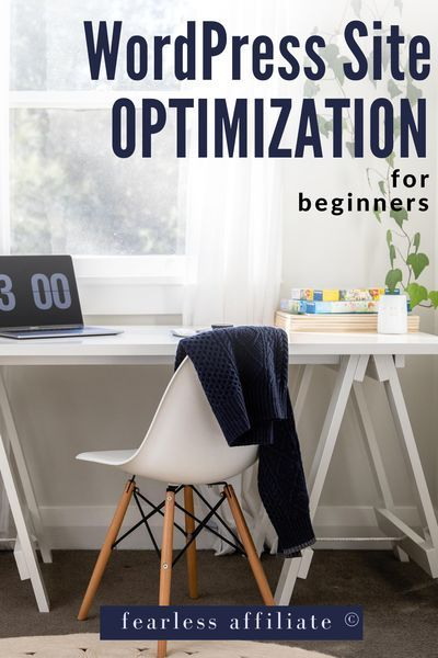 WordPress Site Optimization for Beginners by Fearless Affiliate. Don't let a slow website drive visitors away. Maintain your website with a simple schedule that keeps thing running smoothly. Website Optimization. WordPress Optimization. Website Speed Optimization. Website Load Time. Resize Images. Improve Website Speed. WordPress Plugins. #wordpressoptimization #websiteoptimization #sitespeed #websiteloadtime #resizeimages #improvewebsitespeed
