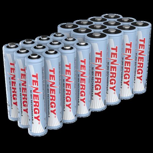 Combo 36 Pcs Tenergy Premium Nimh Rechargeable Batteries 24aa 12aaa Rechargeable Batteries Nimh Recharge