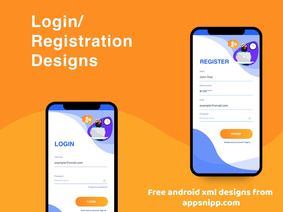 Login screen android studio