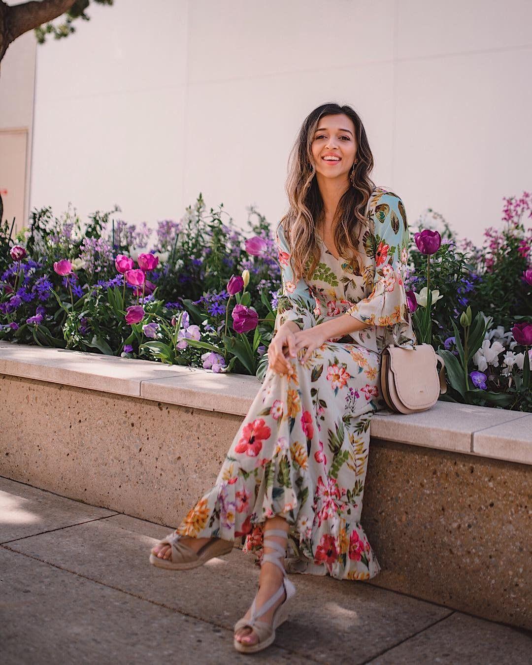 Ruth Floral Maxi Dress Floral Maxi Dress Cute Summer Dresses Long Summer Dresses