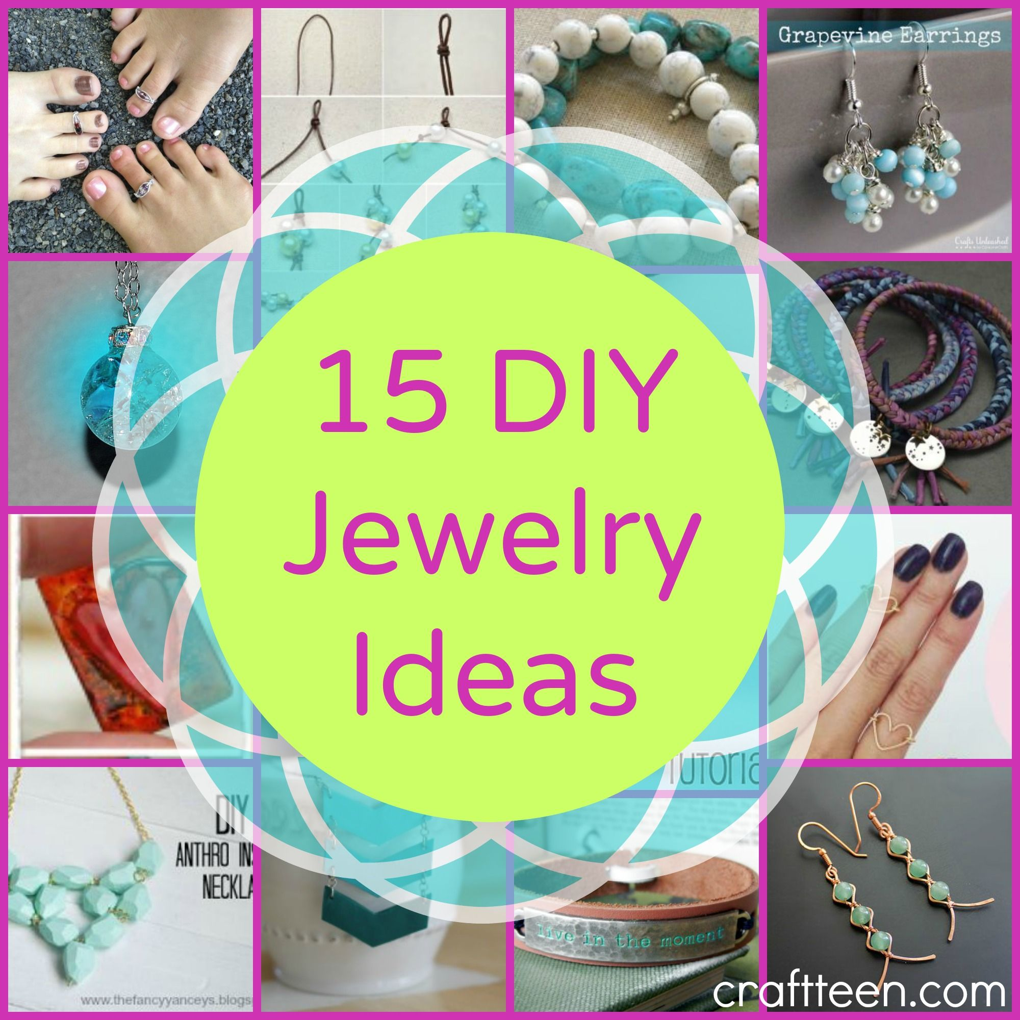 I Think Diy Jewelry Is So Beautiful And You Can T Even
