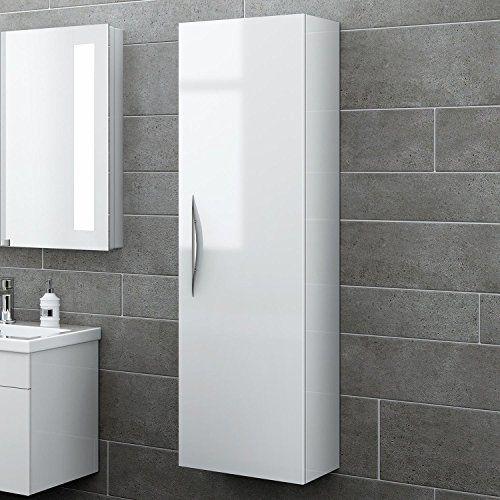 1200 Mm Tall White Bathroom Furniture Wall Hung Modern Cupboard Cabinet Storage Unit Mf820 White Bathroom Furniture Modern Cupboard Bathroom Wall Hanging